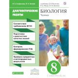 Агафонова И.Б. Биология 8 класс Диагностические работы